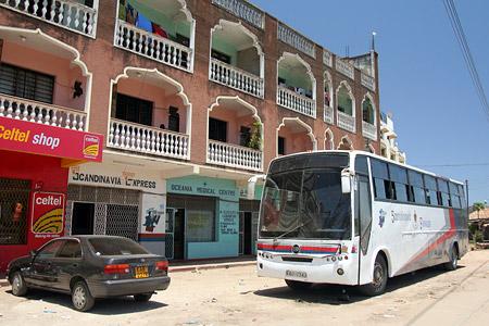 Busstation Mashpoa und Tahmeed