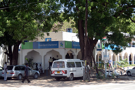 Standard Chartered Bank von Malindi