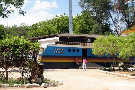 Polizeistation von Malindi
