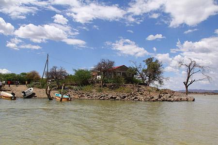 Safari zu einigen Seen im Great Rift Valley - Lake Baringo Foto 2